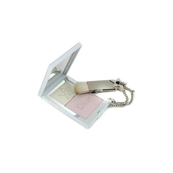 Dior DiorGlam Face & Eyes Highlighting Powder in 002 Pearl Shimmer