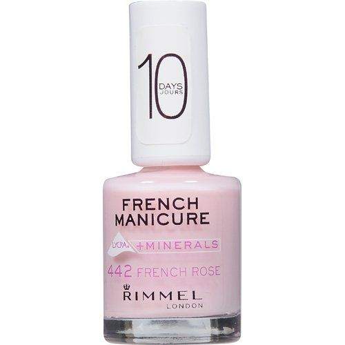 Rimmel French Manicure with Lycra + Minerals - 442 French Rose