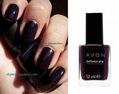 Avon Nailwear Nail Enamel Midnight Plum
