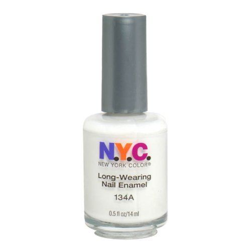 New York Color Long Wearing Nail Enamel - French White Tip 134