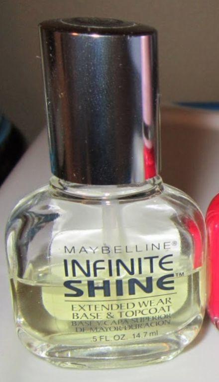 Maybelline Infinite Shine Extended Wear Base & Topcoat