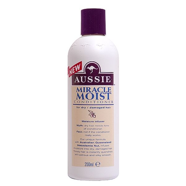 Aussie Miracle Moist Conditioner For Dry Damaged Hair