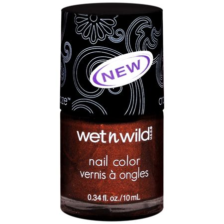 Wet 'n' Wild craze nail polish in rustic