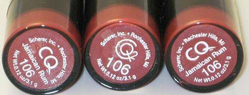 CQ Lipstick in Jamaican Rum (190)