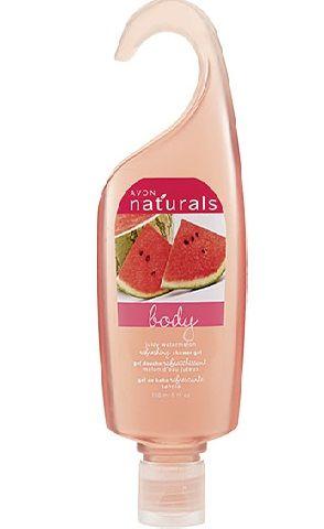 Avon Naturals Shower Gel with Watermelon