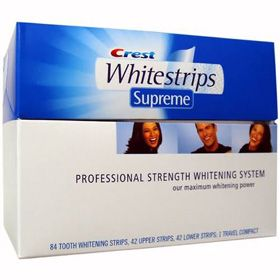 Crest Whitestrips SUPREME