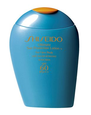 Shiseido  Ultimate Sun Protection Lotion For Face & Body, spf 60 PA+++ [DISCONTINUED]