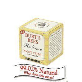 Burt's Bees Radiance Night Creme