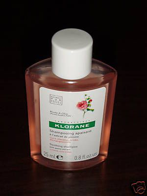 Klorane Soothing Shampoo with Peony Extract for Irritated Itchy Scalps