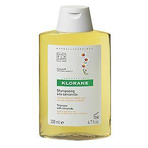 Klorane Camomile extract shampoo