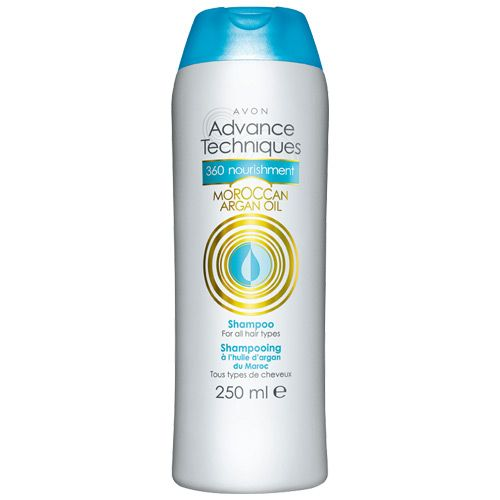 Avon Advance Techniques 360 Nourishment Moroccan Argan Oil Shampoo