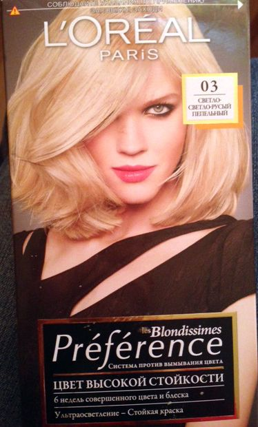 L'Oreal Blondissimes Preference 03