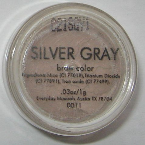 Everyday Minerals Silver Gray