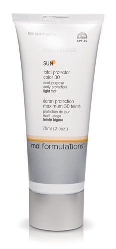 MD Formulations total protector color 30 - tinted sunscreen