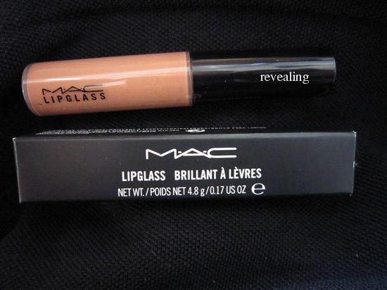 MAC Lipglass- revealing