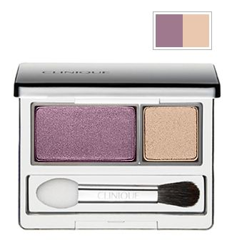 Clinique Colour Surge eyeshadow duo in Beach Plum