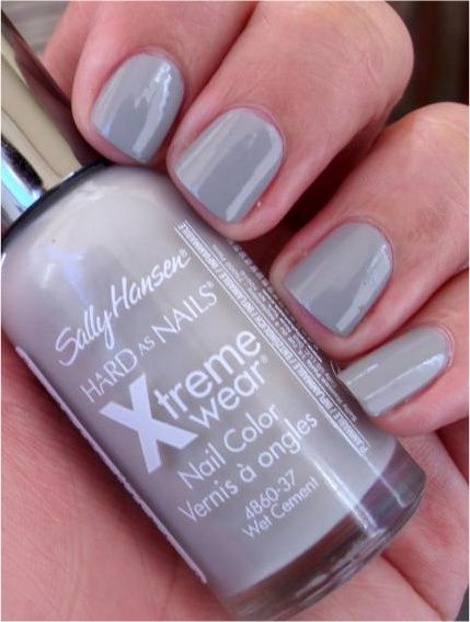 Sally Hansen Xtreme Wear in Wet Cement