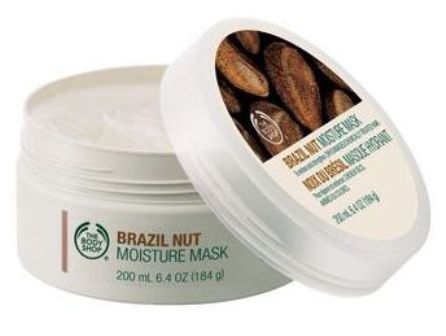 The Body Shop brazil nut moisture mask