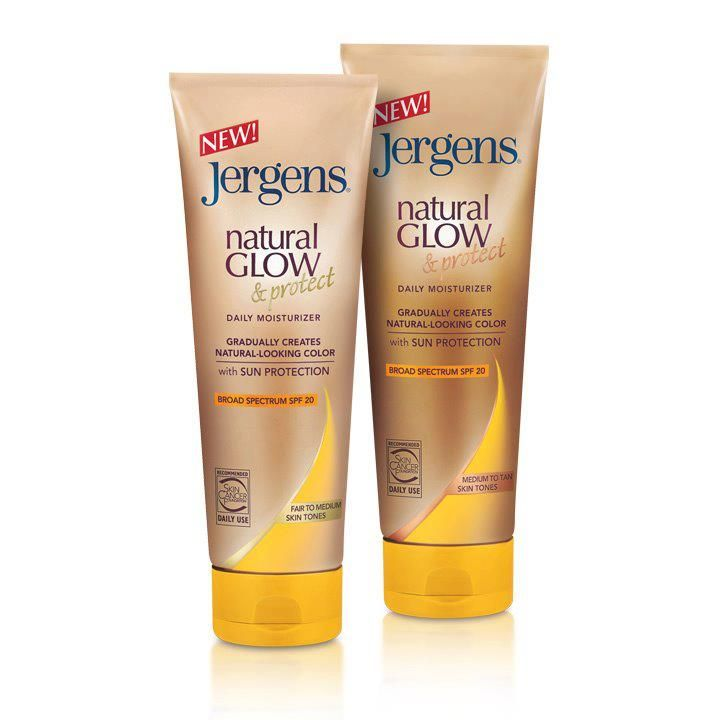 Jergens Natural Glow & Protect Daily Moisturizer with SPF20