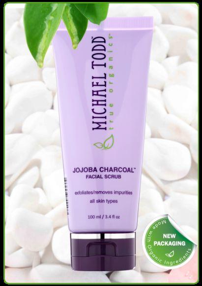 Michael Todd True Organics Jojoba Charcoal Facial Scrub