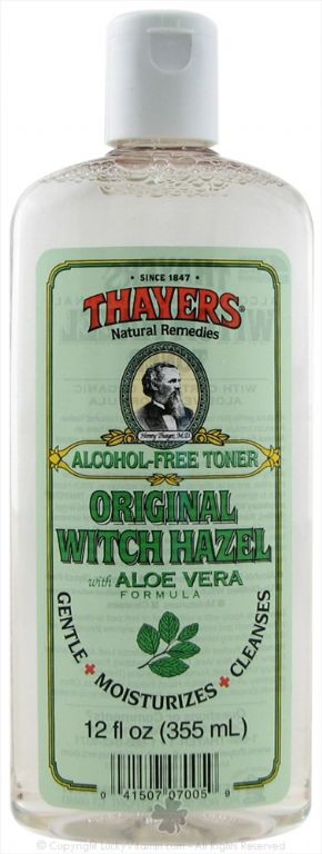 Thayers Alcohol-free Witch Hazel toner with Aloe Vera