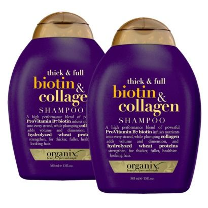 Organix Thick Amp Full Biotin Amp Collagen Shampoo Reviews