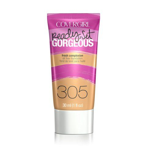 Cover Girl Ready, Set Gorgeous Oil Free Foundation