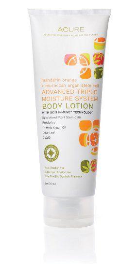 Acure Organics mandarin orange + moroccan Argan Stem Cell body lotion