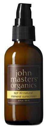 John Masters SPF 30 Natural Mineral Sunscreen