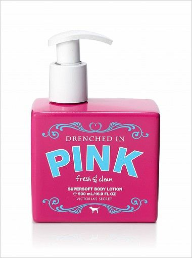 Victoria's Secret Drenched in Pink Fresh & Clean Supersoft Body Lotion