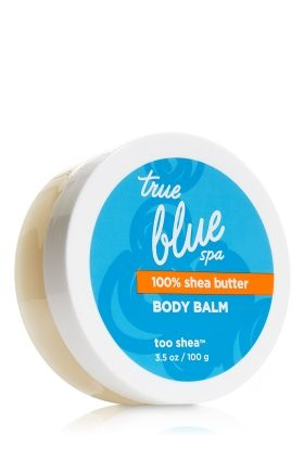 Bath and Body Works True Blue Spa Too Shea 100% Shea Butter Balm