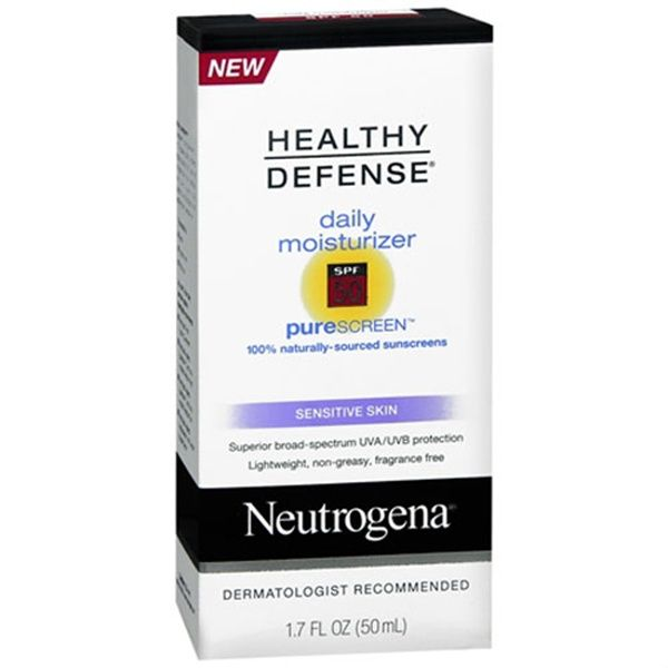 Neutrogena Healthy Defense Daily Moisturizer SPF 50 Sensitive Skin