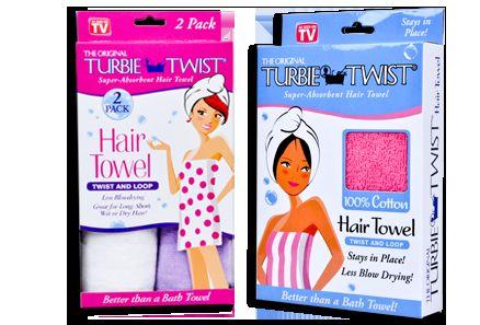 100% cotton Turbie Twist