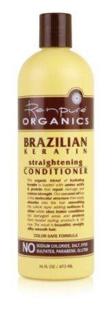 Renpure Originals Brazilian Keratin Straightening Conditioner
