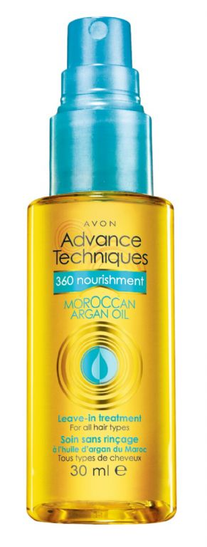 Avon Advance Techniques 360 Nourishment Moroccan Argan Oil