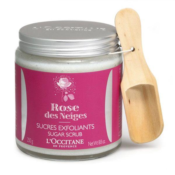 L'Occitane Rose des Neiges Sugar Scrub