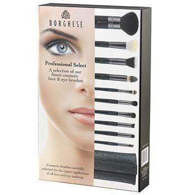 Professional Makeup Brush Sets on Makeup Brushes   Borghese   Professional Select Cosmetic Brush Set