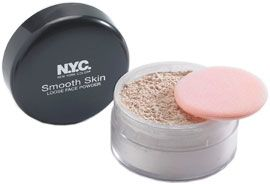 New York Color Smooth Skin loose powder - Translucent
