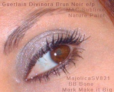 Shiseido  Majolica Majorca eyeshadow in SV821