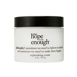 Philosophy when hope is not enough replenishing cream