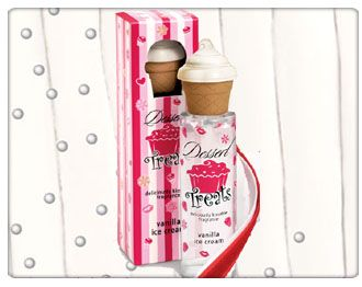 Dessert Beauty Deliciously Kissable Fragrance - Vanilla Ice Cream