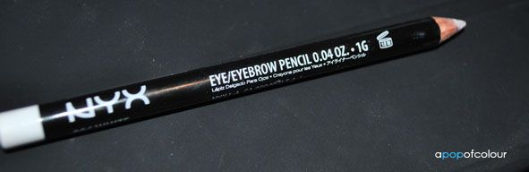 NYX Slim Eye Pencil - White