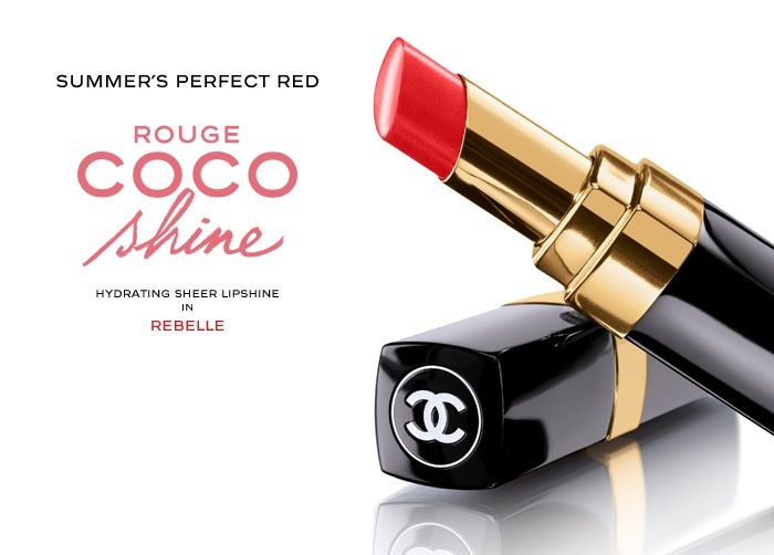 Chanel Rouge Coco Shine #63 Rebelle