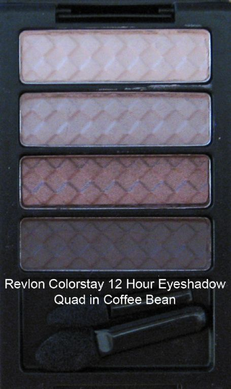 Revlon Wet/Dry Eyeshadow quad in Coffee Bean