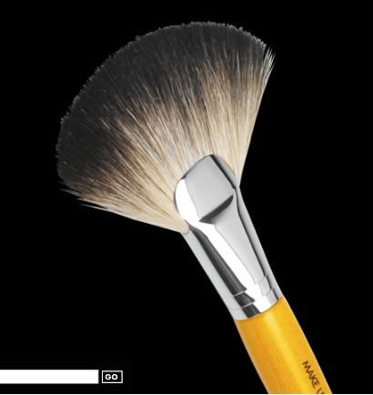 Make Up For Ever Powder Fan brush