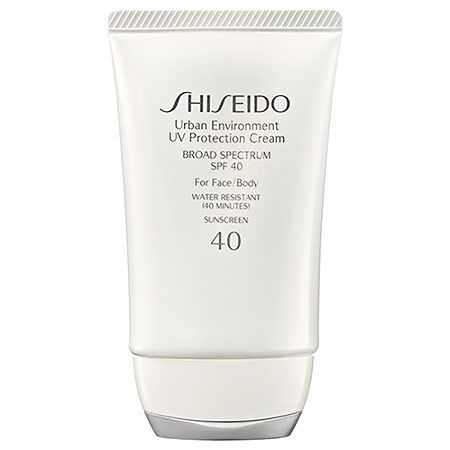 Shiseido  Urban Environment UV Protection Cream Broad Spectrum SPF 40 For Face/Body