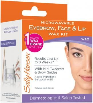 Sally Hansen Microwaveable Eyebrow, Face & Lip Wax