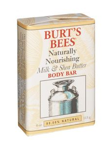 Burt's Bees Naturally Nourishing Milk and Shea Butter bar soap [DISCONTINUED]