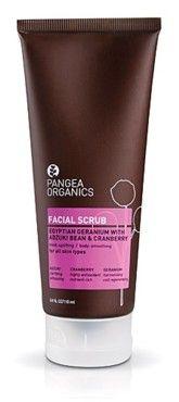 Pangea Organics Facial Scrub Egyptian Geranium with Adzuki Bean and Cranberry