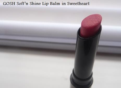 GOSH soft'n shine lip balm
